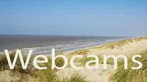 webcams kust belgie rondom b&b beachhouse