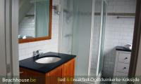badkamer met douche lavabo wc