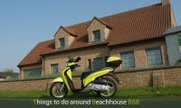 B&B with scooterrenting facilities in belgium near the sea