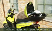 topbox, scooter, storage compartment