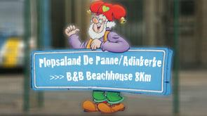 Plopsaland De Panne Adinkerke bed and breakfast